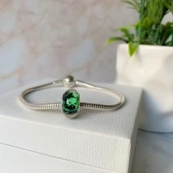 Murano glass verde